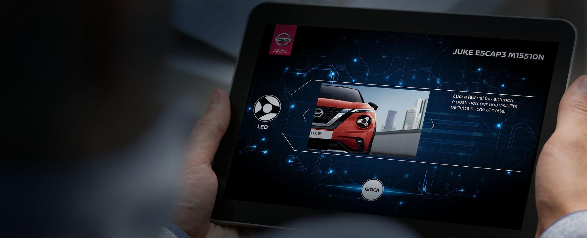 Nissan Juke - customer engagement advergame